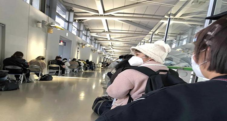 昨天入境的东和新生发来战报!关西国际机场入境流程详解